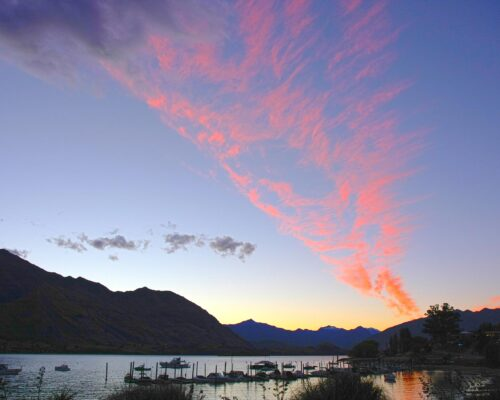 sunset-wanaka-queensstown